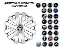 """Колпаки SJS (Турция), 16"""" 409 VW (к-т 4 шт) + эмблема на выбор"""