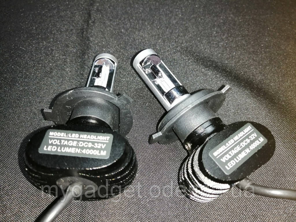 Комплект LED ламп HeadLight S1 H4 6000K 4000lm