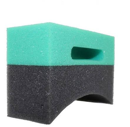 Аппликатор для чернения резины - Martin Cox American Style Grey/Green HD Tyre Dressing Applicator (MOGG138L), фото 2