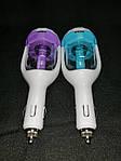 USB автомобильное зарядное устройство увлажнитель Фиолетовый, фото 2
