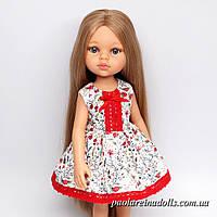 """Платье """"Цветочный луг"""" для кукол Паола Рейна, фото 1"""