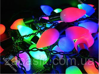 Гирлянда LED Бахрома Перчик 3х0,6 м Новогодняя Цвет Мульти
