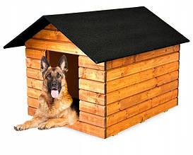 Утепленная будка для большой собаки из дерева  Comfort House XXL