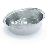 SPT51L/800мл контейнер круглый из пищевой алюминиевой фольги, 100шт/уп