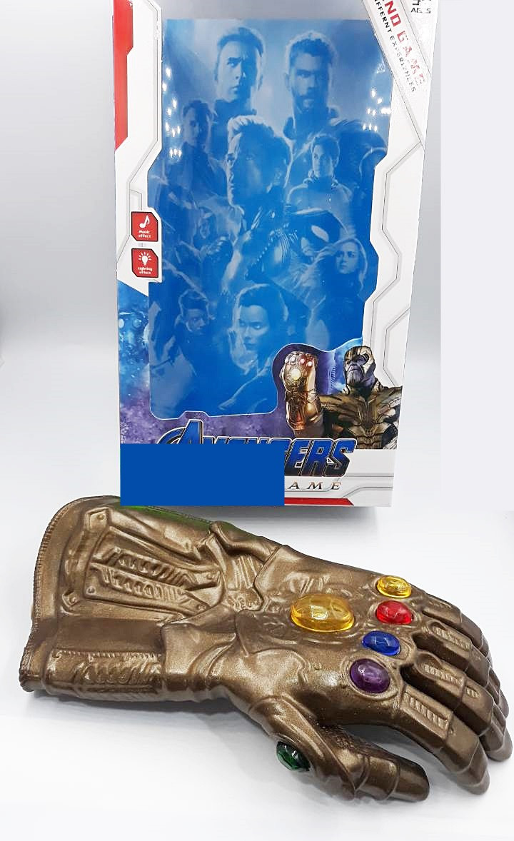 Перчатка бесконечности Таноса свет, звук
