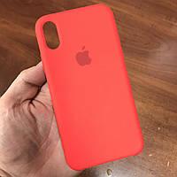 Чехол на телефон iphone x xs 10 красивый силиконовый бампер для айфона 10 красный, фото 1