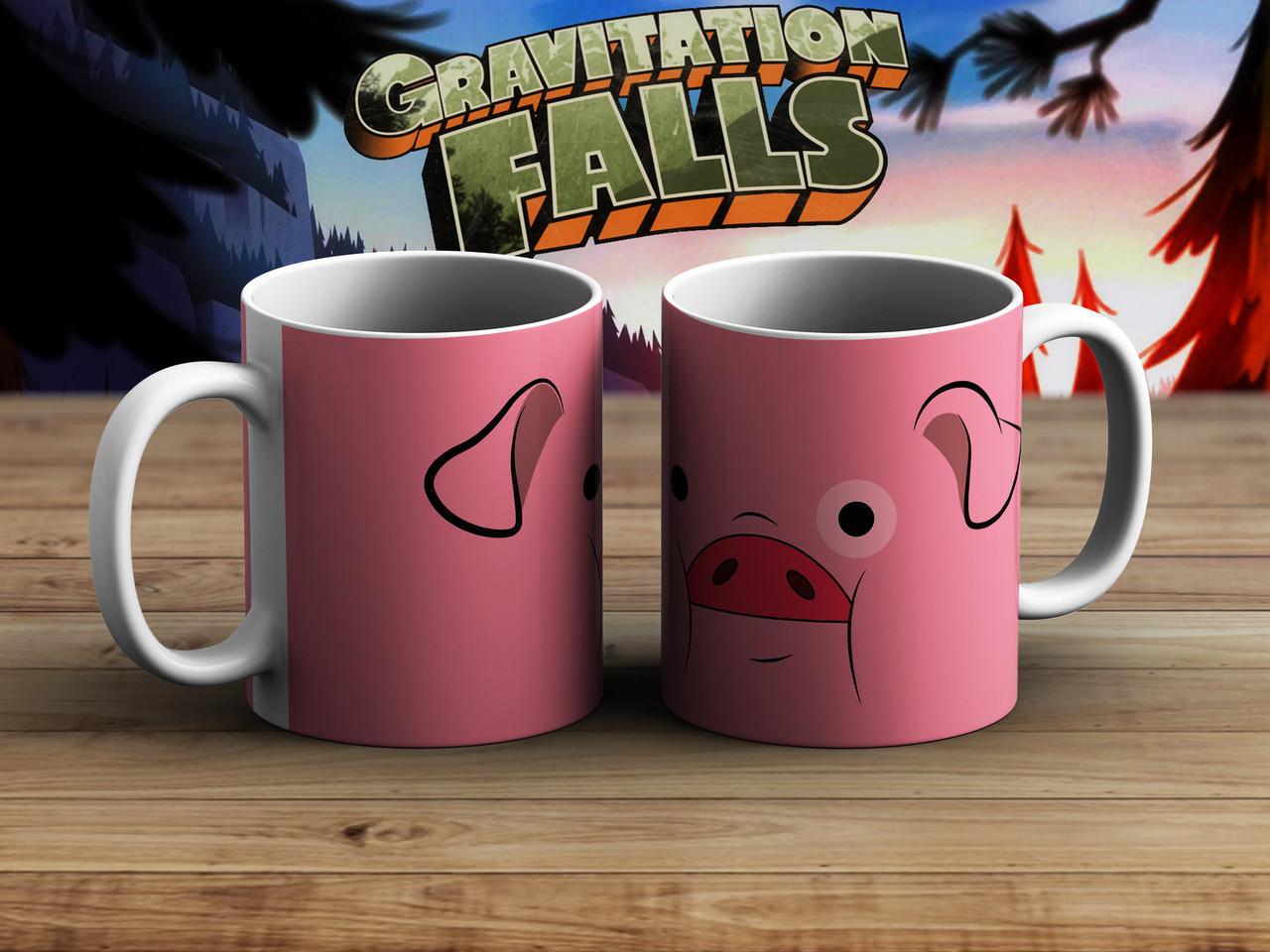 Чашка Пухля Гравити Фолз / Gravity Falls