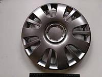 """Колпаки SJS (Турция), 16"""" 407 Opel (к-т 4 шт) + эмблема на выбор"""