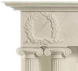 Мраморный Камин Империя, фото 2