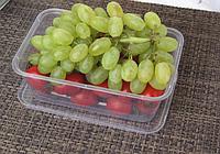 Контейнер пищевой прямоугольный с крышкой, 650мл ( Судок для продуктов)
