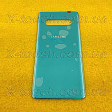 Samsung Galaxy S10 задня кришка для телефону, зеленого кольору.