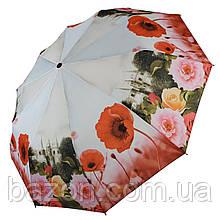 Женский зонт полуавтомат Susino, цветочный принт, 43006-7