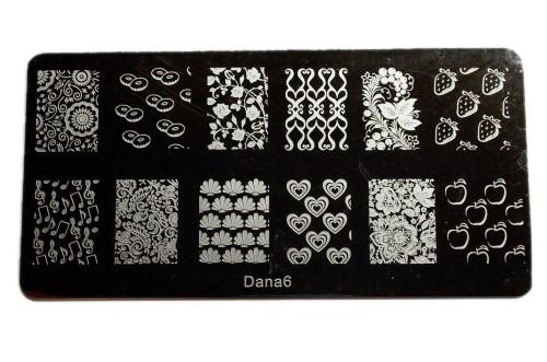 Пластина для стемпинга Dana-6