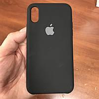 Чехол на телефон iphone x xs 10 красивый силиконовый бампер для айфона 10 черный, фото 1