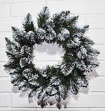 Венок рождественский Лидия 40см (заготовка)