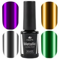 Гель-лак NAOMI Metallic Collection 6мл