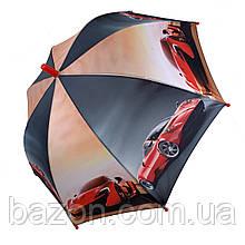 """Детский зонтик для мальчиков SL """"Гонки"""" , 18104-2"""