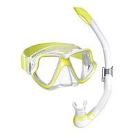 Набор MARES WAHOO NEON (маска+трубка) (Желтый)