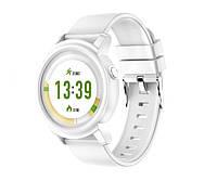 Смарт-часы NY01 White (пульсометр, 230мАч)