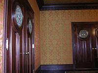 Обтяжка стен тканью с работой и материалами, фото 1