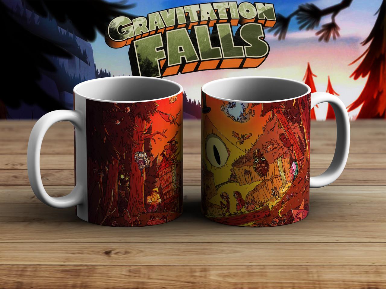 Чашка Билл Шифр Гравити Фолз / Gravity Falls