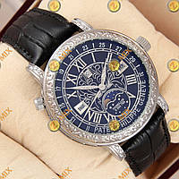 Часы Patek Philippe Geneve Silver/Black