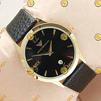 Часы Armani Slim Quartz Gold/Black
