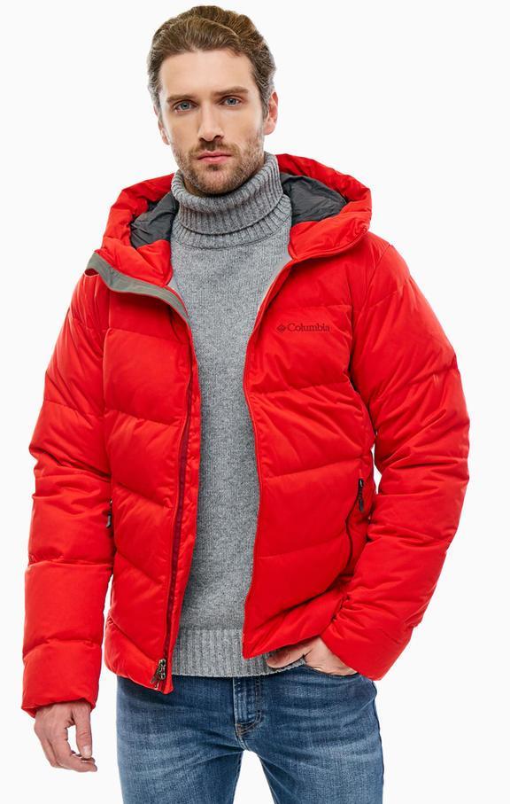 Мужская красная куртка Columbia Wrightson Peak Down