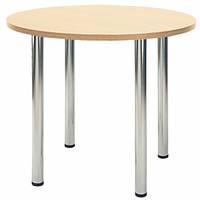 Обеденный стол Kaja (Кайя) chrome/alu, фото 1
