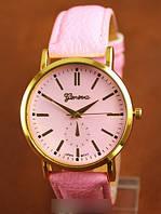 Часы Geneva розовые, женские часы Женева, Женева фото