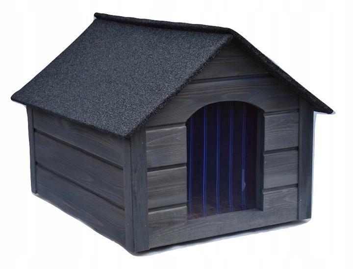 Утепленная будка для собак из дерева с Comfort House L