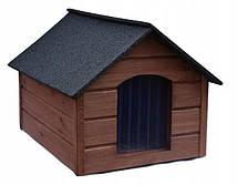 Утепленная будка для собак из дерева с Comfort House L, фото 2