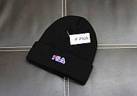 Шапка Fila shovel black