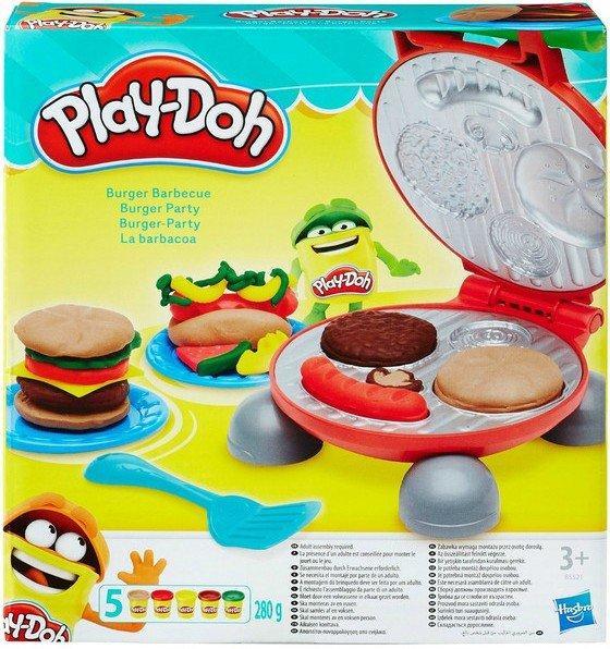 Hasbro Play Doh Плей-До Игровой набор Бургер гриль-B5521