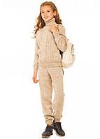 Теплый костюм для девочки.