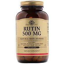 """Рутин SOLGAR """"Rutin"""" 500 мг (250 таблеток)"""