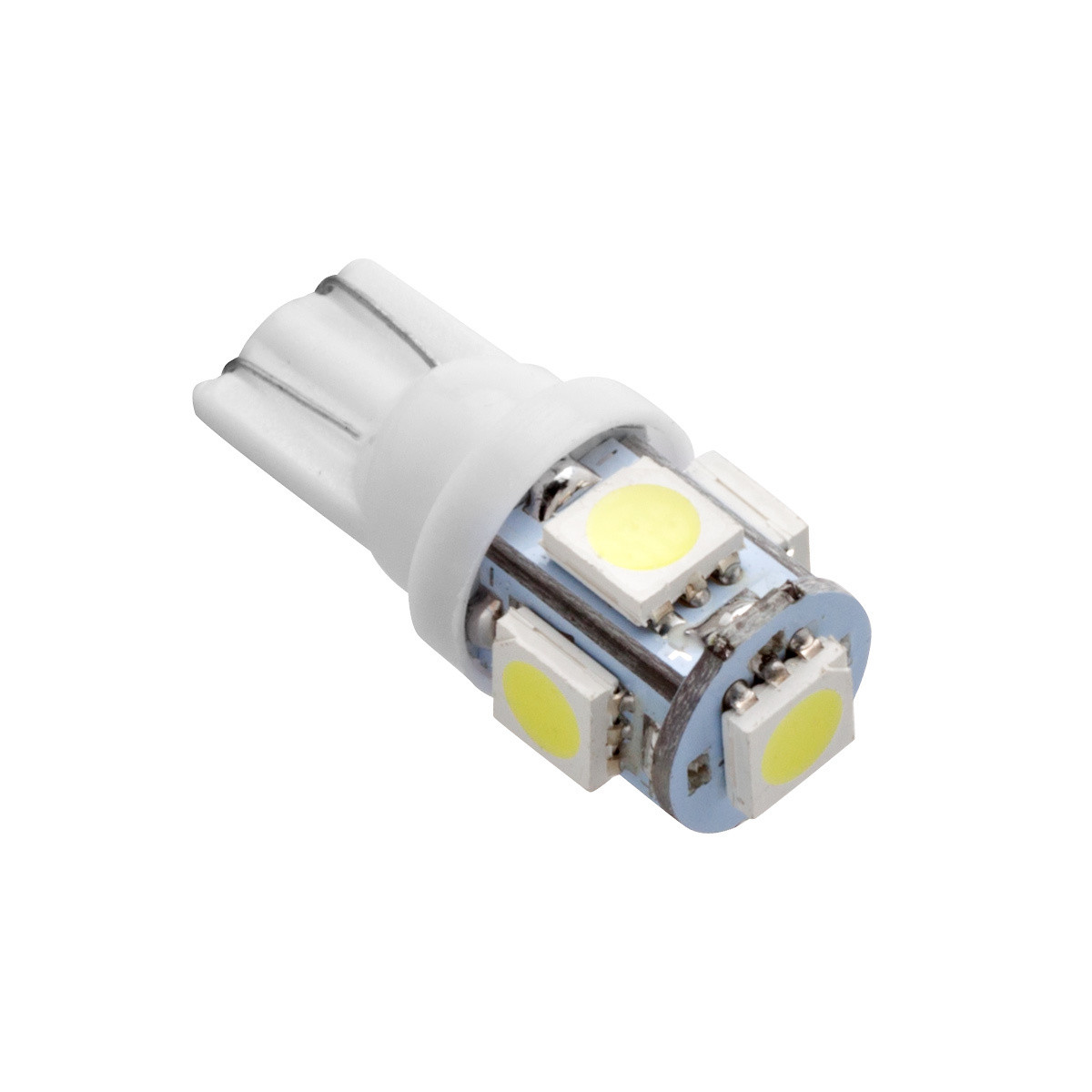 Світлодіод АвтоСвіт T10 5SMD W2.1x9.5d White (avs-12T10-W/5SMD) 930132
