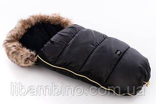 Дитячий універсальний зимовий конверт Tuttolina Puer Black-brown