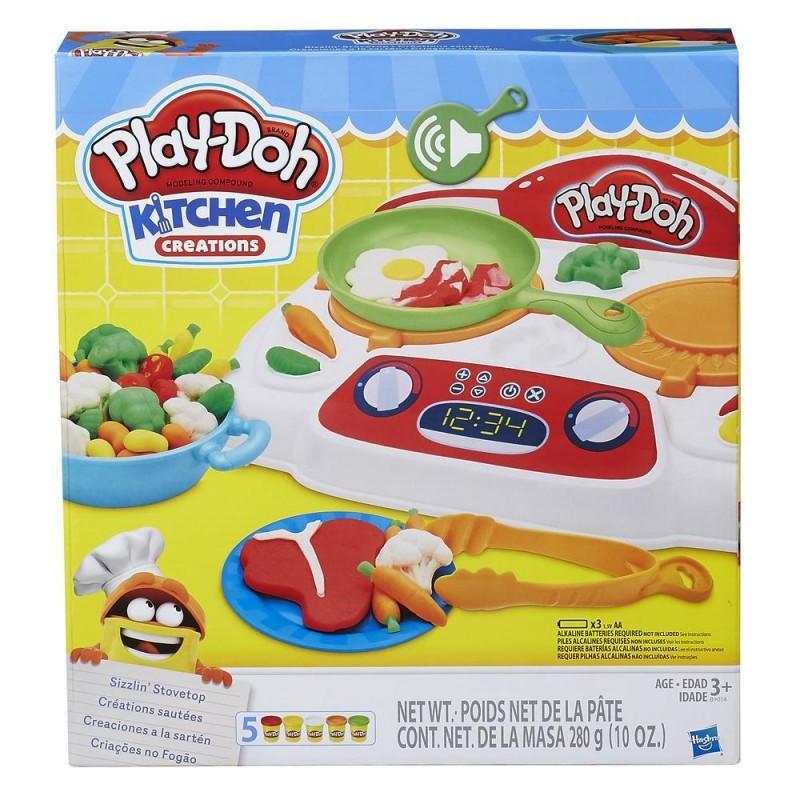 Hasbro Play Doh Плей-До Игровой набор Кухонная плита-B9014