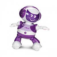 Интерактивный робот ДИДЖЕЙ – ЭНДИ (танцует, озвуч. укр. яз., фиолетовый)