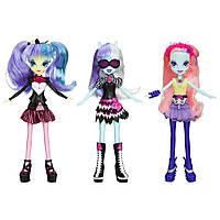 My Little Pony Equestria Girls набор из 3 кукол Оригинал из США