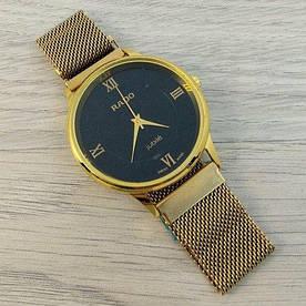 Наручные часы эконом Rado Gold-Black