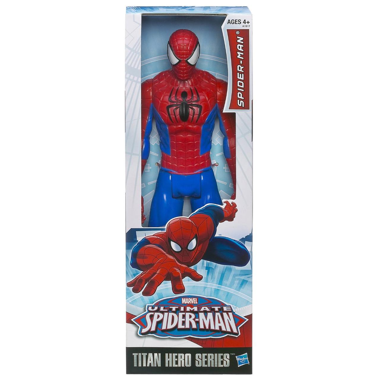 Большая игрушка Человек-Паук 30 см, серия Титаны - Ultimate Spider-Man, Titans, Hasbro SKL14-138247