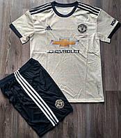 Детская футбольная форма Манчестер Юнайтед запасная 2019-2020, фото 1