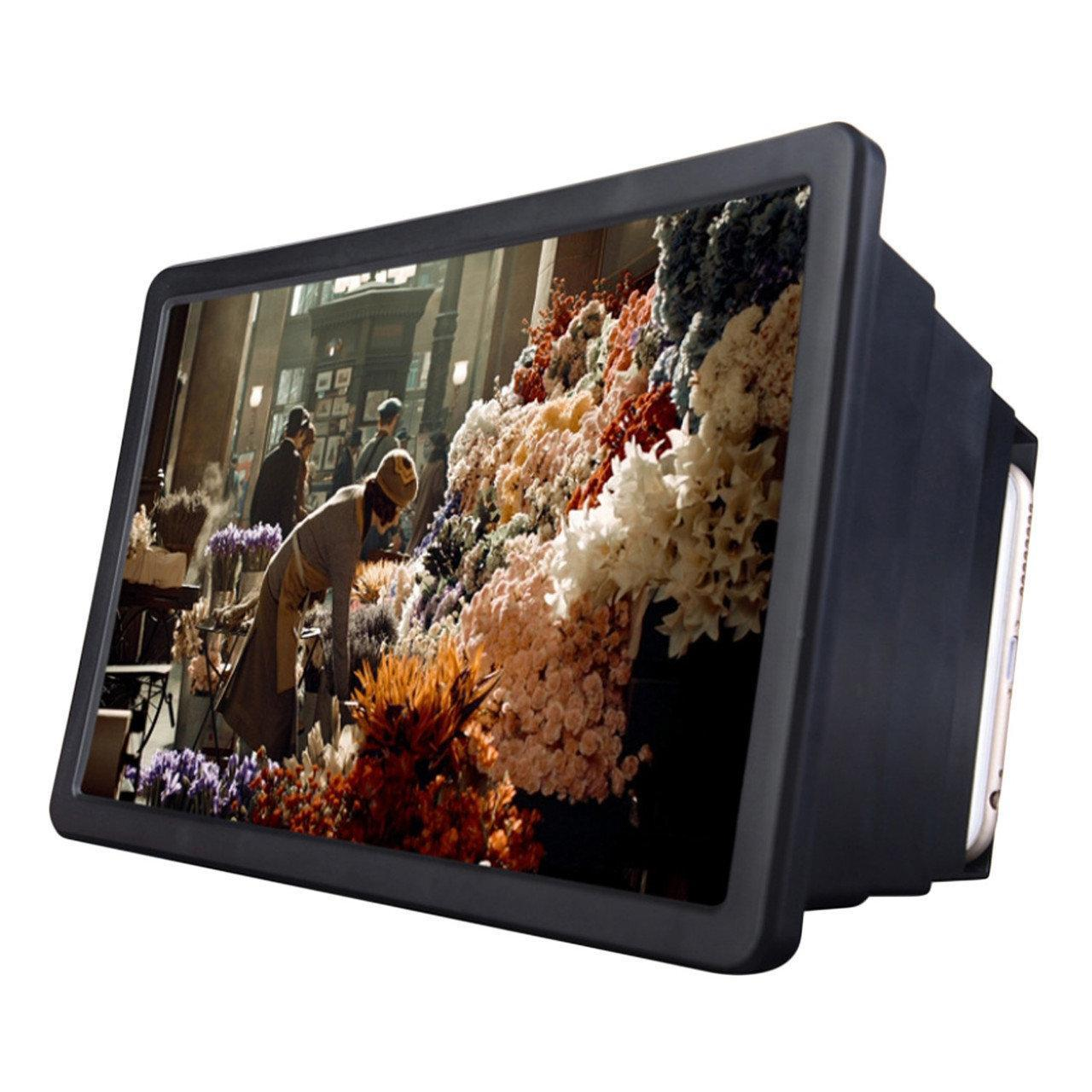 Подставка-увеличитель экрана телефона Magnif 3D с закрытым дизайном Seuno F2
