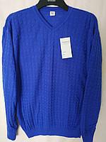 Мужской стильный свитер .Электрик  ( XL), фото 1