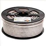 Светодиодная лента JL 5730-52 WW 220В IP68 теплый белый, герметичная, 1м, фото 2