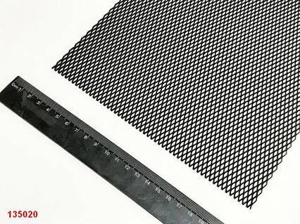 Сетка декоративная метал. 100x20 см черная  №1  SAHLER 1 шт.