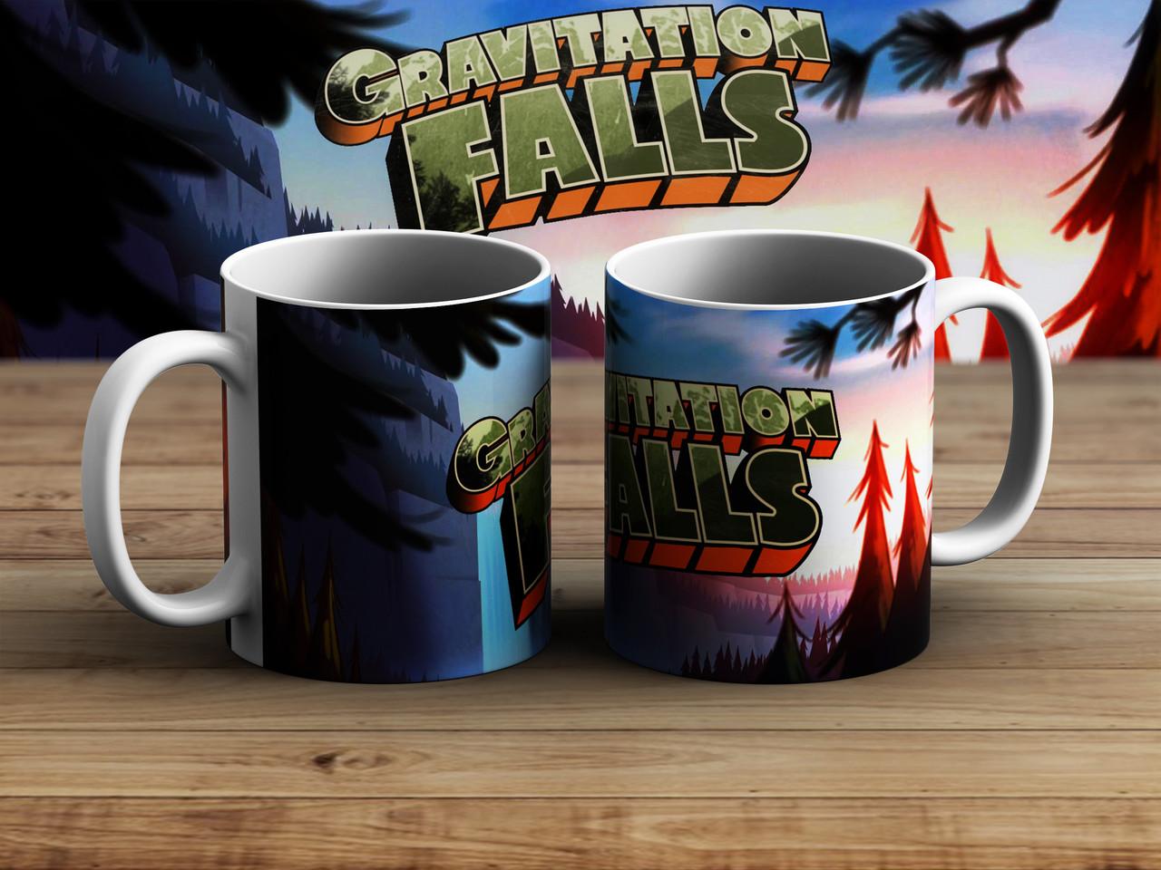 Чашка лес Гравити Фолз / Gravity Falls