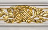 Мраморный камин Аркадия Стиль Людовика XVI(сусальное золото), фото 3